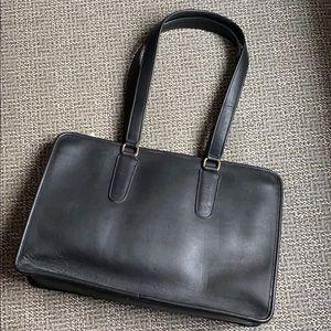Vintage Coach Marketing Tote Leather Shoulder Bag